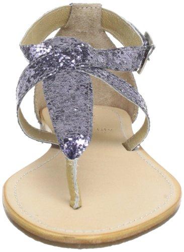 Black Lily cecilia glitter sandal Damen Sandalen Blau (glitter)