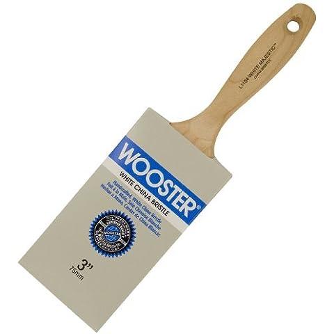 Wooster Brush L1104-3 White Majestic Paintbrush, 3