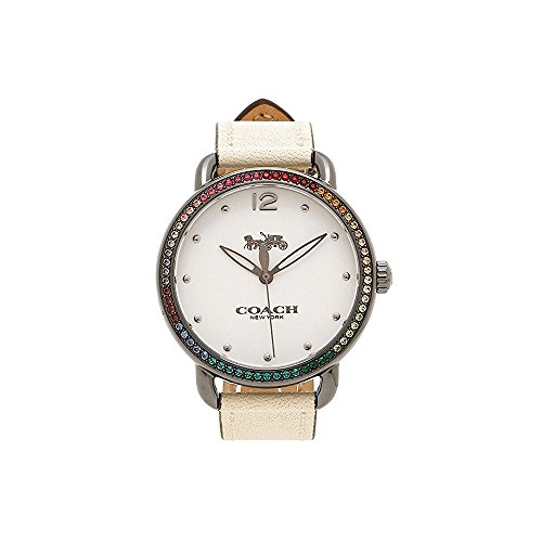 White Dial Women's Casual Quartz Coach Coach Delancey 14502888