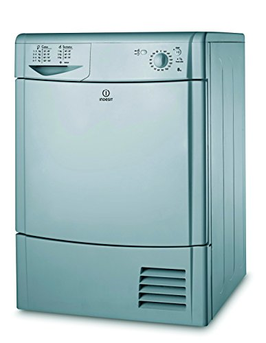Indesit Ecotime IDC 8T3 B S Tumble Dryer - Silver