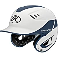 Rawlings artículos deportivos de béisbol R16casa tamaño casco - R16, Blanco/Azul Marino