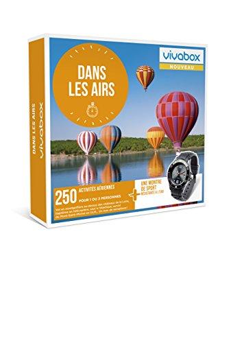 Vivabox - Coffret cadeau sensation - DANS LES AIRS - 250 activités aériennes + 1...