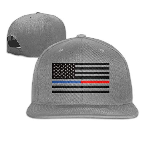 Zhgrong Caps The Internum Cap Cool Bule and Red American Flag Snapback Hat Baseball Cap Flat Cap