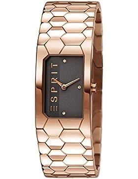 Esprit Damen-Armbanduhr Analog Quarz Edelstahl ES107882003