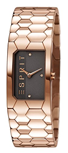 Esprit TP10788 Rose Gold Women's Quartz Watch with Grey Dial Analogue Display and Rose Gold Stainless Steel Bracelet ES107882003