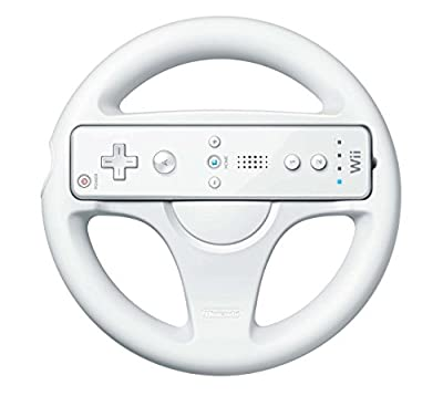 Official Wii Wheel (Wii) - Wii Remote Not Included by Nintendo
