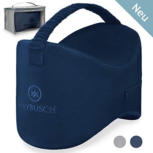 Maybusch® orthopädisches Kniekissen für Seitenschläfer - verbessert den Schlaf - entlastet Hüfte und Knie - extra langlebig - Beinkissen - Leg-Pillow