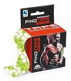 Pinotape® Pro Sport - das Original - kinesiologisches Tape verschiedene Farben und Designs 5 cm x 5 m- besonders hautverträglich - Kinesiologie - Physio-Tape (Green Flower)