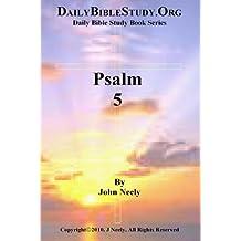 Psalm 5 (Daily Bible Study – Psalms)