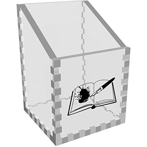 'Füllfederhalter & Buch' Klar Schreibtisch Aufgeräumt / Stiftehalter (DT00028237)