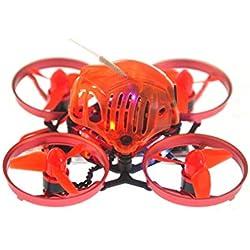 Laurelmartina Happymodel Snapper6 65mm Micro 1S Drone FPV RC sin escobillas con F3 OSD 5A ESC BNF Frsky Receptor de una Sola edición de Electricidad