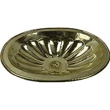 Moulded ovale stile marocchino Handmade rame bagno lavandino–grande ovale sagomato e martellato–L49W39H16cm–Clearance ultimi