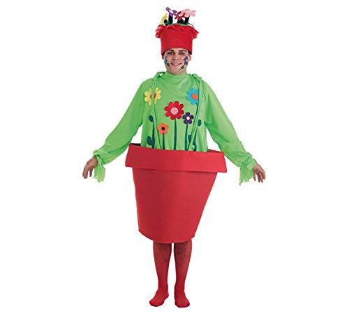Blumentopf Kostüm - LLOPIS Erwachsenen Blumentopf Mann Kostüm