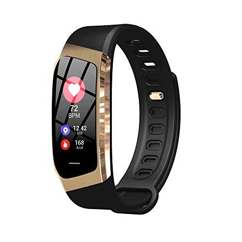 Eignungsübung Übungsherzfrequenzüberwachungsuhr GPS-Bewegungsspurschritt wasserdichtes intelligentes Armband E18-gold Gps-pro Notebook