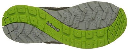 Lafuma Herren M Track Trekking-& Wanderhalbschuhe Mehrfarbig (Deep Grey/acid Green)