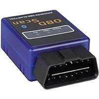 PUMPKIN OBD2 Bluetooth Adapter Diagnosegerät Scanner CAN BUS Interface (Y0004) Auto Car PKW KFZ OBDII Kompatibel mit iOS und Android Geeignet für meisten Autos