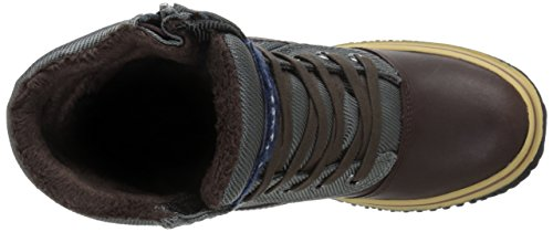 Pajar LESLIE, Scarponi da neve imbottiti, a mezza gamba donna Multicolore (Mehrfarbig (DK BRN/DK GREY 023))