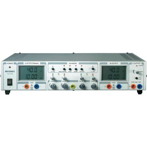 VOLTCRAFT Labornetzgerät, einstellbar VSP 2410 0.1 - 40 V/DC 0 - 10A 809W Anzahl Ausgänge 3 x