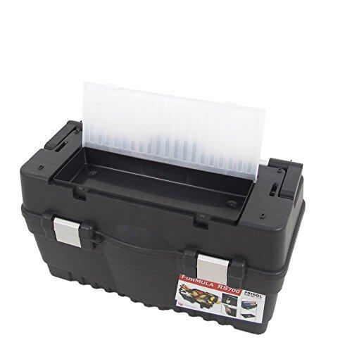 Kunststoff Werkzeugkoffer Formula RS ALU 700 Soft, 59,5x29cm Kasten Werzeugkiste Sortimentskasten Werkzeugkasten Anglerkoffer - 4