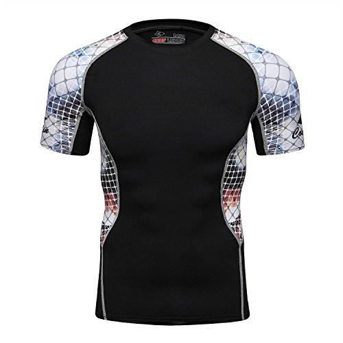red-plume-uomini-s-traspirante-esercizio-ad-asciugatura-rapida-sportivo-t-shirt-in-esecuzione-aderen