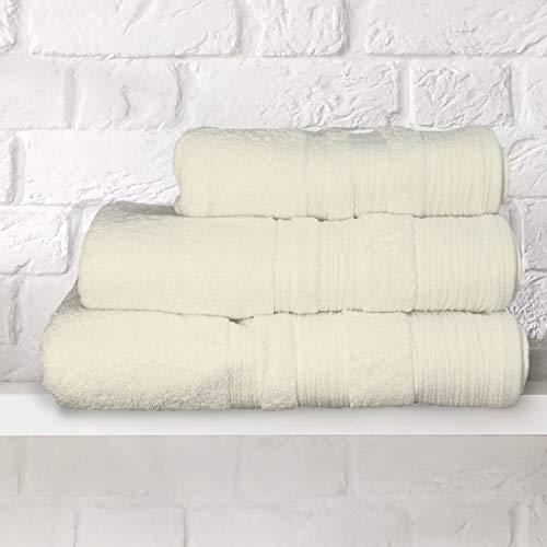 Envuelve tu ropa con un lujo puro. Tejido a partir del mejor algodón egipcio peinado de grapas largas, nuestras toallas de lujo de 700 gramos son excepcionalmente felpa, absorbentes y duraderas. Detallado con un bonito borde, nuestras excepcionales t...
