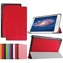 Xinda Lenovo Tab38.0/Tab 2A8–50Funda–Ultra delgado ligero Smart Cover con función de Auto Sleep/Wake para Lenovo Tab 38(TB3–850F/TB3–850M)/Tab 2A8–508.0Inch Tablet