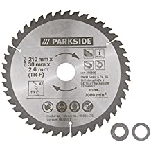 Parkside hoja de sierra circular pksb 210 A1 (TR-F) ...