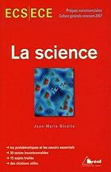 La science ECS-ECE : Concours 2007