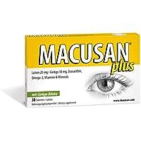Macusan Plus Tabletten bei altersbedingter Makuladegeneration (AMD) um den Luteinspiegel der Makula zum Start... preisvergleich bei billige-tabletten.eu