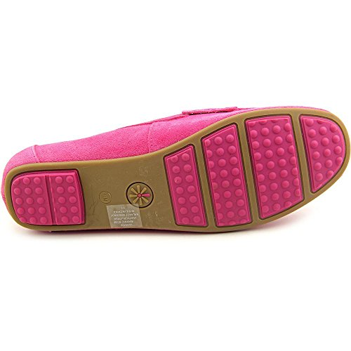 Isaac Mizrahi Annie Large Daim Mocassin medium pink