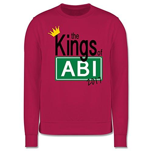 Abi & Abschluss - The Kings of Abi 2017 - Herren Premium Pullover Fuchsia