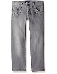 The Children's Place Girls' Studded Skinny Jean