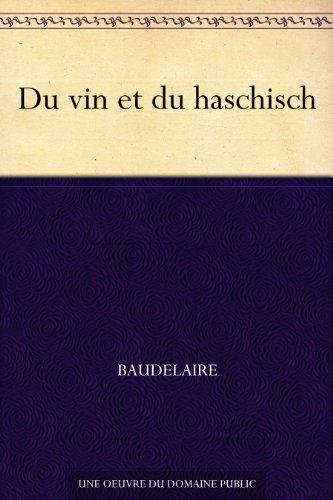 Couverture du livre Du vin et du haschisch