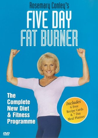 NO.1# WEIGHT LOSS  ROSEMARY CONLEY – FIVE DAY FAT BURNER [DVD] REVIEWS DIET PLAN UK