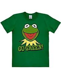 Los Muppets - camiseta de la rana Gustavo - con estampado retro de la serie de