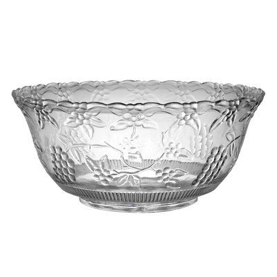 Platter Pleasers 8 qt. Punch Bowl (Set of 6) by Fineline settings 8 Quart Punch Bowl
