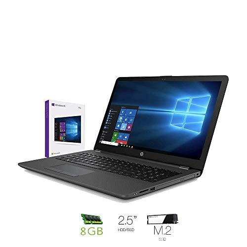 HP 250 G6 (15,6 Zoll HD) Business Notebook Intel Core i5-7200U, 8GB DDR4 RAM, 240GB SSD M.2,+ HDD 500 Gb Intel HD Grafikkarte, DVD-Writer, Windows 10 Professional 64 bit,Italienische QWERTY-Tastatur