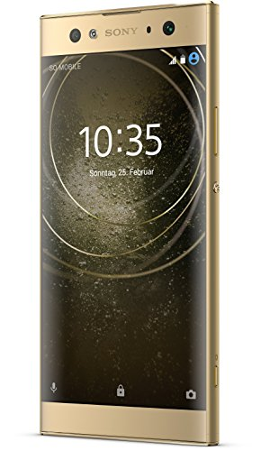 Sony XPERIA XA2 Ultra Smartphone (15,2 cm (6 Zoll) Full HD Display, 32 GB Speicher, 4 GB RAM, Android 8.0) Gold - Deutsche Version