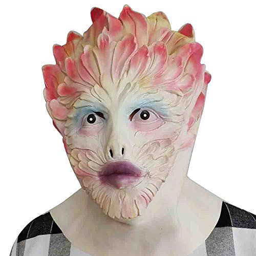 Xgsco Blume Fee Latexmaske, Halloween Horror Blume