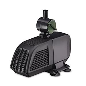Blagdon Minipond Pond Pump 900 (to Run Fountains for Standard Ponds up to 2250 Litre), 3 Fountain Heads