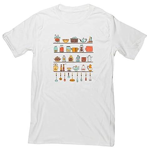 Hippowarehouse - T-shirt - Homme - blanc -