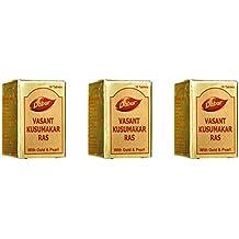 DABUR Vasant Kusumakar Ras 10 Tablet - Pack of 3