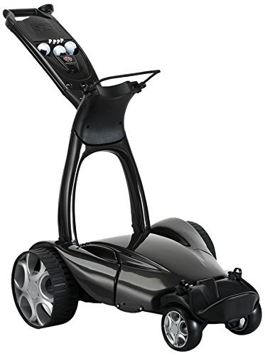 Stewart Golf X9 Follow - Carro de golf eléctrico, color Plateado (Met...