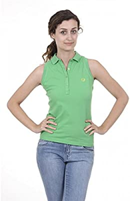 Fred Perry Fred Perry Womens Polo 31162083 0250 VERDE