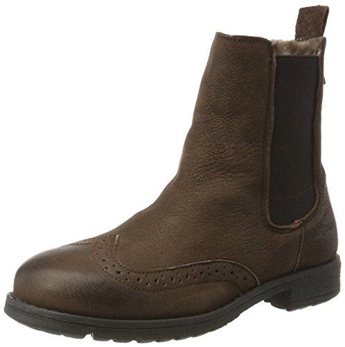 Bisgaard Unisex-Kinder Stiefelette Chelsea Boots, Braun (302 Brown), 35 EU