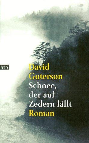 Buchseite und Rezensionen zu 'Schnee, der auf Zedern fällt' von David Guterson