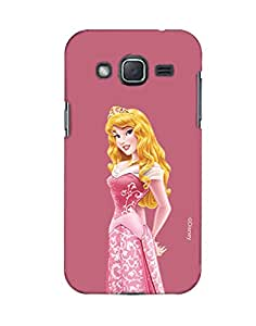 Pick Pattern with Exclusive DISNEY Characters Back Cover for Samsung Galaxy J2