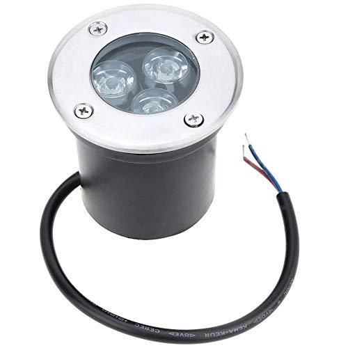 Eidyer LED Foco empotrable al Aire Libre,3W LED luz subterránea, luz de...