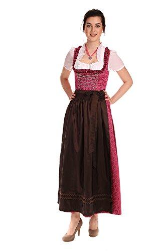 Königssee Tracht Damen Dirndl festlich D611023 Sophia Magenta