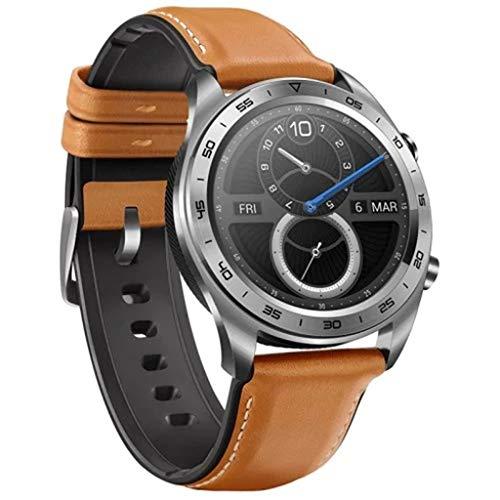 99native 2019 Für Huawei Honor Uhr Magic Smart Watch 1,2 Zoll TFT-BildschirmWasserdicht 5ATM 50mHerren Sport Smart Armbanduhr Schrittzähler, Herzfrequenzerkennung/Blutdrucktest (Braun)
